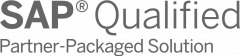 SAP Qualified Partner-Packaged Solution Logo