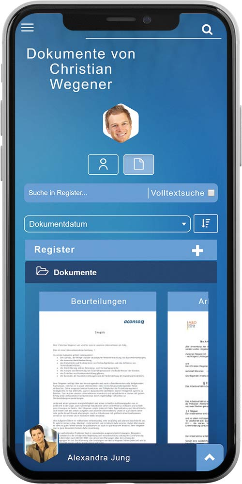 HR Software nubea mobile