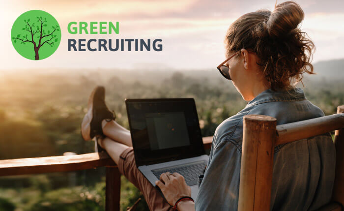 Recruiting 2020<br> Trend 2: Green Recruiting